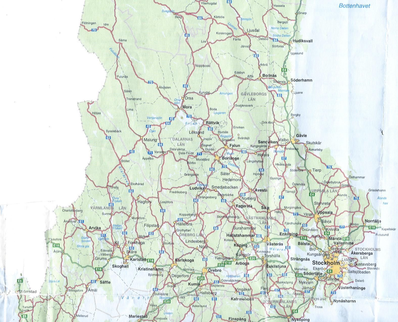 grenlösa trosor svealand karta